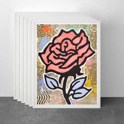 Donald Baechler, 'Rose (Portfolio of 6)', 2015
