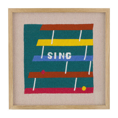 Rose Blake, 'Sing (Hearing The Last Note)', 2018