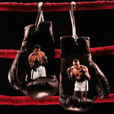 Neil Leifer, 'Neil Leifer. 'Ali vs. Liston II, 1965' Dye-sublimation print on ChromaLuxe aluminum panel', 2020