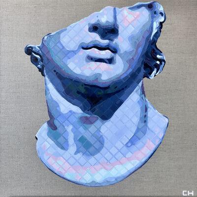 Charlie Hanavich, 'Fragmentary Colossal Head of Youth', 2017