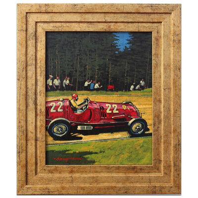 Barry Rowe, 'Tazio Nuvolari at the Nürburgring 1937 | Automotive | Car', 2013