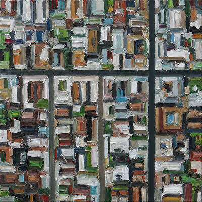 Ralph Fleck, 'American City 11/XII', 2019