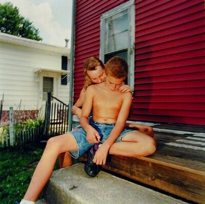 Chris Verene, 'Untitled - Galesburg (Josh and His Girlfriend)', 1992