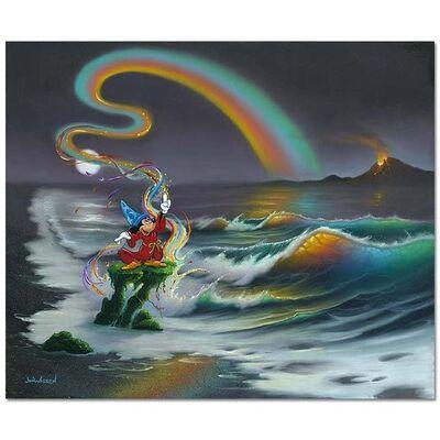 Jim Warren, 'Mickey Colors the World', 1990-2020