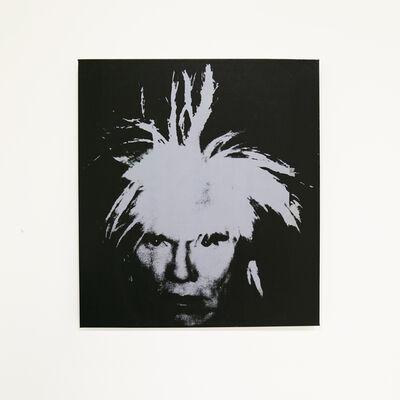 Louis Waldon, 'Self-Portrait (Fright Wig Light Blue),', ca. 1990