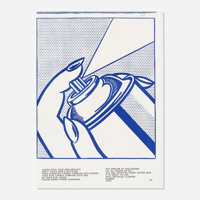 Roy Lichtenstein, 'Spray Can from the One Cent Life portfolio', 1963