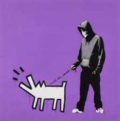 Banksy, 'Choose Your Weapon (Bright Purple)', 2010