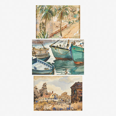 Henry Martin Gasser, 'Three works of art'