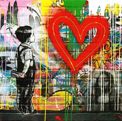 Mr. Brainwash, 'With All My Love (MTL114)', 2019