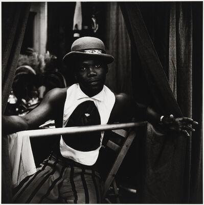 Peter Hujar, 'Young Circus Performer in Hat', 1973