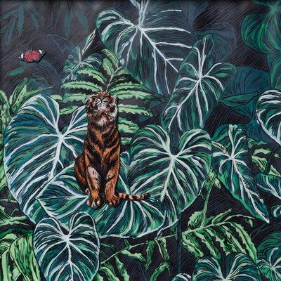 Adele van Heerden, 'Tigris et Papilione', 2018