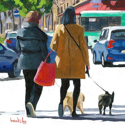Angie Brooksby, 'Paris dogs', 2017