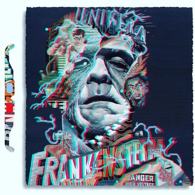 Tristan Eaton, '3D Frankenstein', 2020