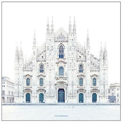 David Burdeny, 'Piazza del Duomo, Milan, Italy', 2016