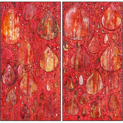 Haleh Mashian, 'Rain Dance in Red', 2018