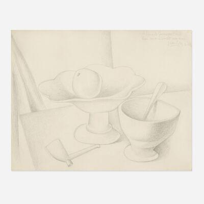 Juan Gris, 'Nature morte au compotier (Still Life with Fruit Bowl)', 1919