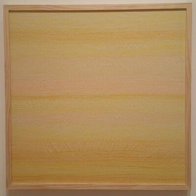 Inkyo Back, 'H.A.Z.E. (yellow)', 2015