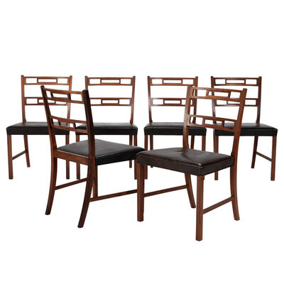 Ole Wanscher, 'Set of 6 dining chairs', 1960's