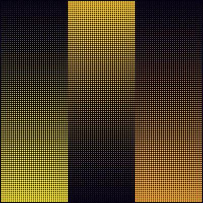 Almir Mavignier, 'Vai e vem amarelo'