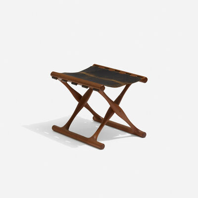 Poul Hundevad, 'Guldhoj folding stool', c. 1948