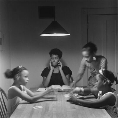 Carrie Mae Weems, 'Untitled (Woman and daughter with children)', 1990