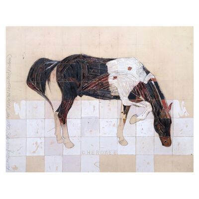 Ed Rainey, 'Cherokee (A Horse That Lives South of Newbern)', 2017