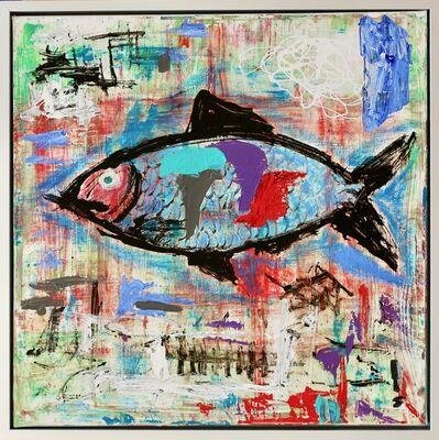 Islam Abd An-Nur-kant, 'A girl and a fish ', 2017