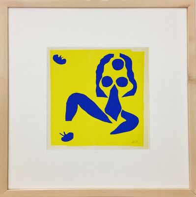 Henri Matisse, 'Nu Bleu IV', 1958