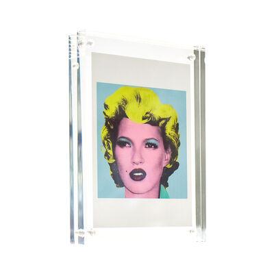 Banksy, 'KATE Crude Oils Showcard / Postcard (Framed)', 2005