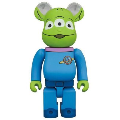 BE@RBRICK, 'BE@RBRICK x Disney Pixar Toy Story Alien (1000%)', 2020