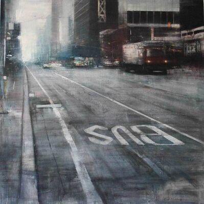 Pedro Rodriguez Garrido, 'Cloudy Morning, Manhattan'