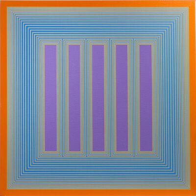 Richard Anuszkiewicz, 'Temple of Lavender with Orange', 1983-2018