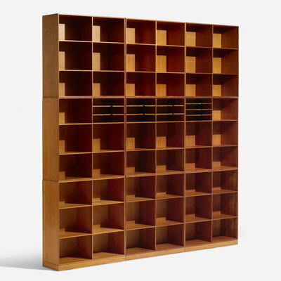 Mogens Koch, 'Set of nine bookcases', c. 1960