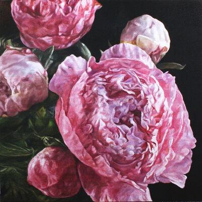 robert lemay, 'Pink Peonies', 2019
