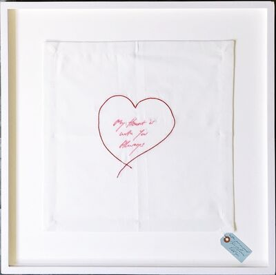 Tracey Emin, 'My Heart is With You Always (Hand signed and inscribed)', 2015