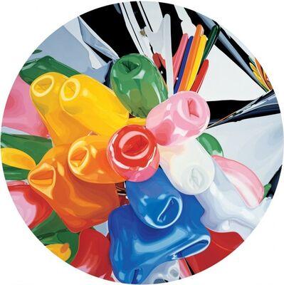 Jeff Koons, 'Tulips Service Plate', 2015