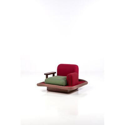 Ettore Sottsass, 'Tappeto Volante; Armchair', 1974-1975