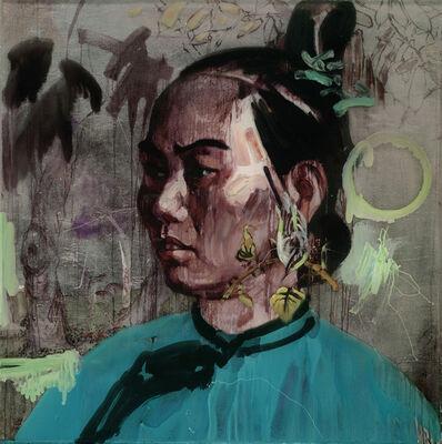 Hung Liu, 'Blue Blouse', 2006