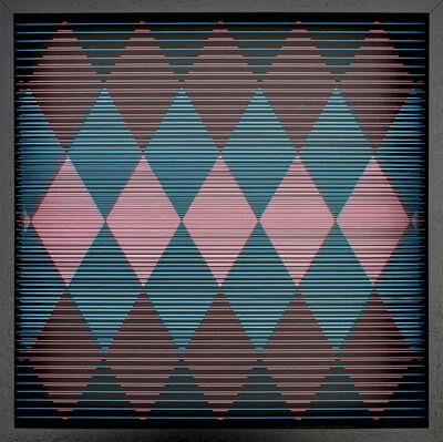 Paolo Cavinato, 'Iridescence #21 (weaving)', 2020