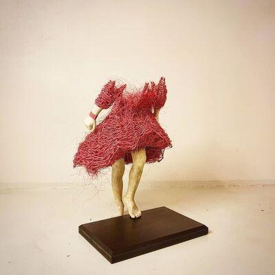 Lene Kilde, 'Pink Jump', 2020