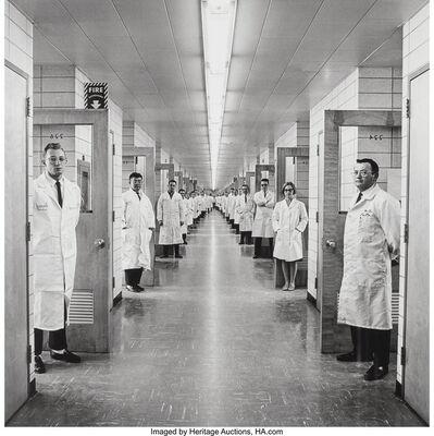Elliott Erwitt, 'Bell Labs, New Jersey', 1966