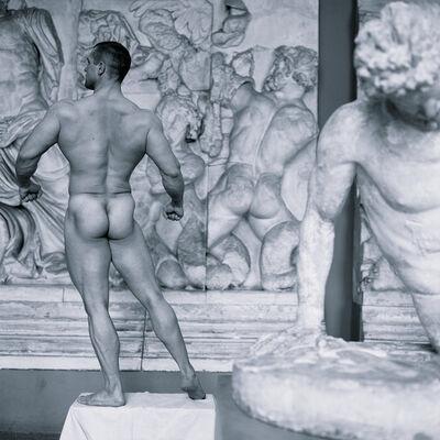 Valery Katsuba, 'Athlete and Milton of Crotona', 2015