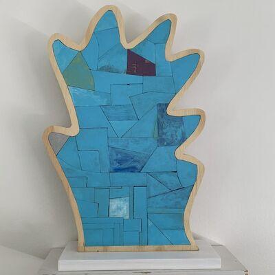 Damien Hoar de Galvan, 'Blue', 2019