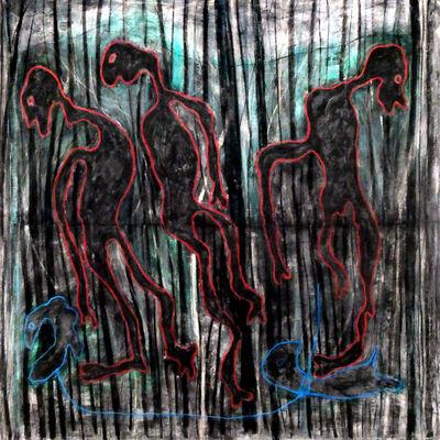 Obodje, 'Esprits de la forêt (the forest spirits)', 2019