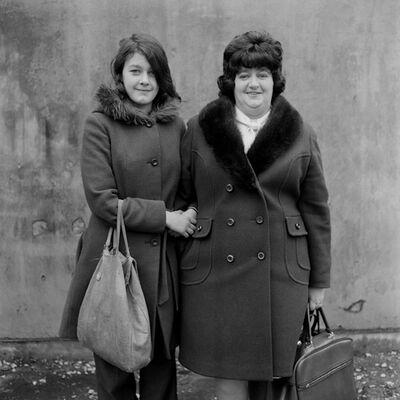 Daniel Meadows, 'Mother and Daughter, Karen Cubin and Barbara Taylor ', 1974