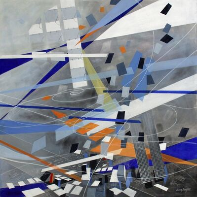 Sherry Tseng Hill, 'Making Large Spaces - spatial, geometric, architectural, space exploration', 2013