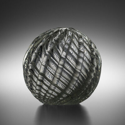 Paolo Venini, 'Spherical Diamante vase, model 3638 A', 1934-36