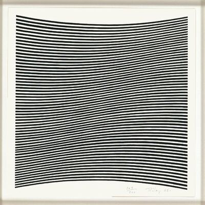 Bridget Riley, 'Untitled (from La Lune En Rodage)', 1965