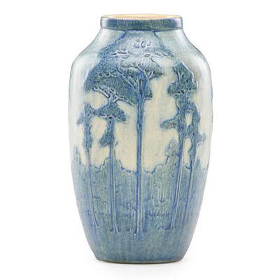 Anna Frances Simpson, 'Vase with pine trees', 1917