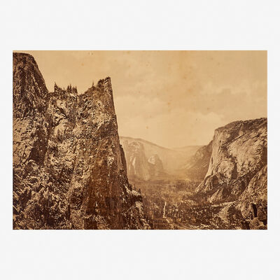 Eadweard Muybridge, 'Valley of the Yosemite from Union Point', 1872